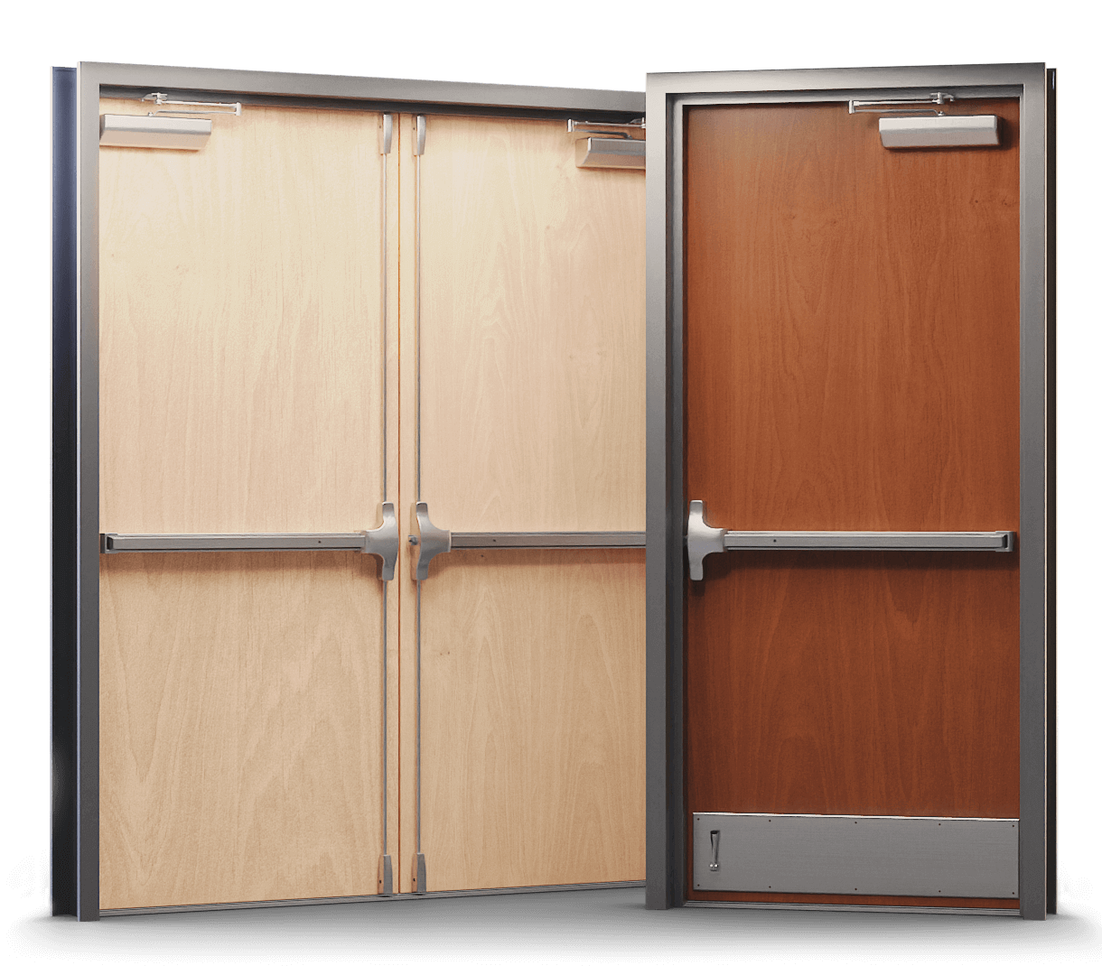 Pre-Finished Commercial Wood Doors in Toronto - GTA