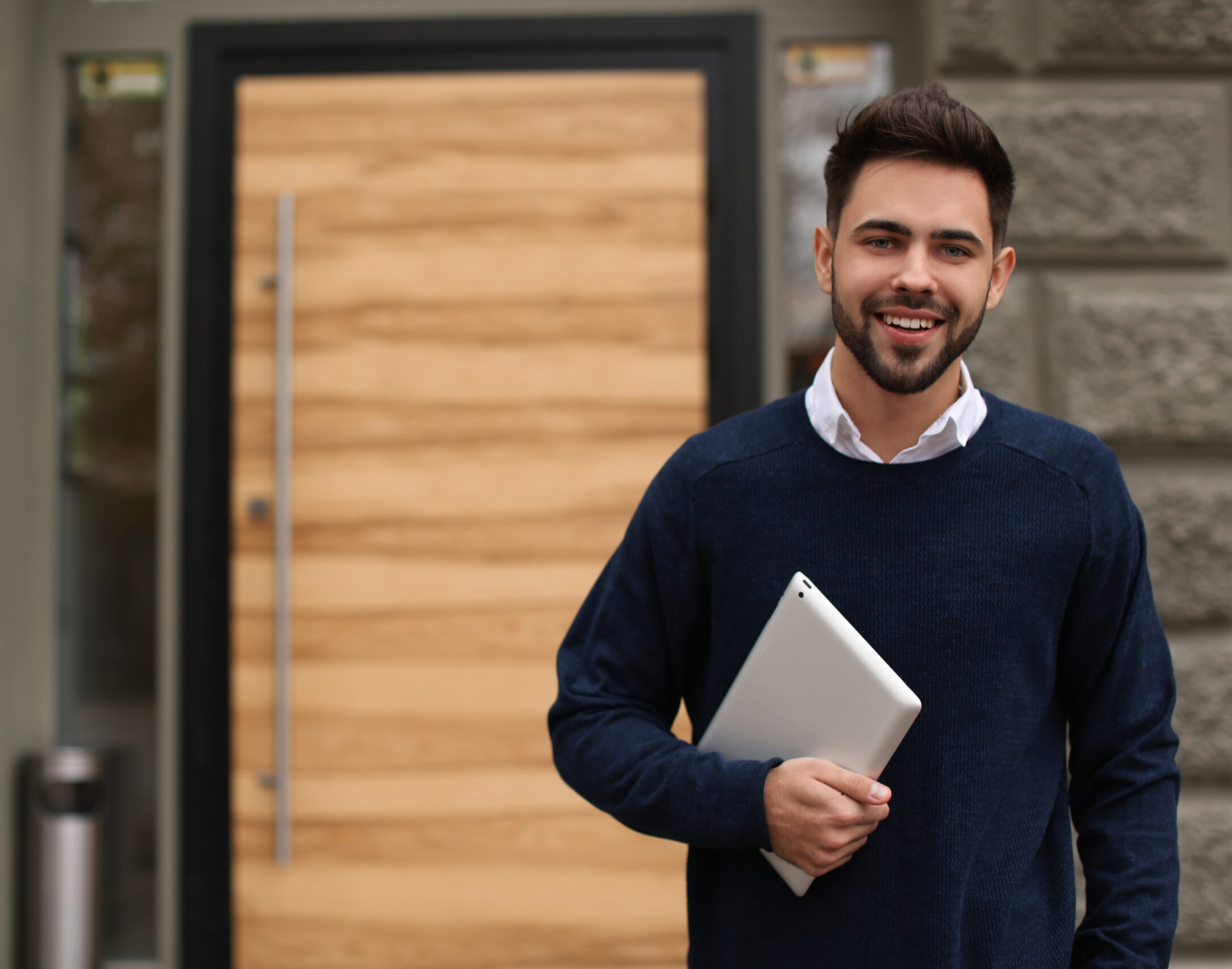 Toronto Commercial Door Ltd. Sales Expert Smiling